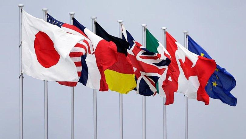 G7 nedir? G7 ülkeleri hangileridir? G7 ne zaman kuruldu?