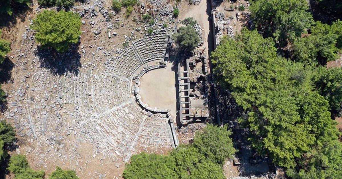 'Anadolu'nun Pompeisi'nde Zeus'un izleri