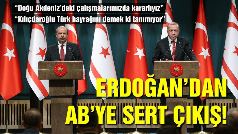 Cumhurbaşkanı Erdoğandan Doğu Akdeniz mesajı