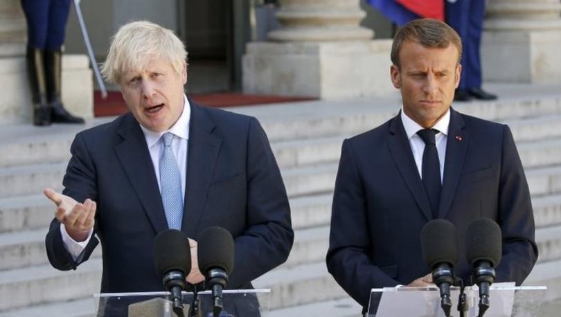 Macron'dan Boris Johnson'a Brexit mesajı: Müzakereler sürebilir ama İrlanda sınırıyla ilgili ihtiyat maddesi değişmeyecek