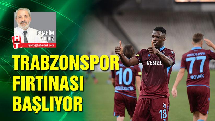 Trabzonspor fırtınası başlıyor