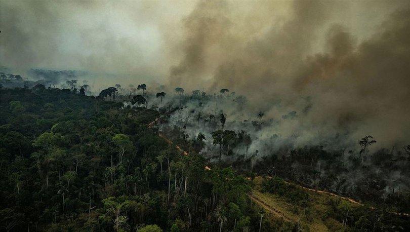 Amazonlar'daki yangın durdurulamıyor