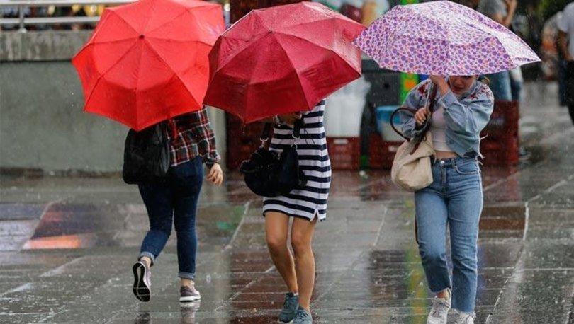 Son dakika... DİKKAT! Meteorolojiden çok önemli uyarı! 9 kentte sağanak yağış var! - Haberler