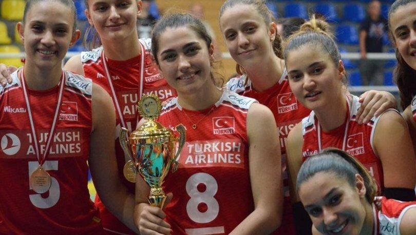 Türkiye, 17 Yaş Altı Kızlar Balkan Şampiyonası'nda şampiyon!