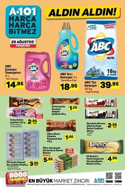 A101 29 Ağustos 2019 aktüel ürünleri belli oldu! Yepyeni A101 aktüel ürünleri indirimde olacak! İşte tam liste
