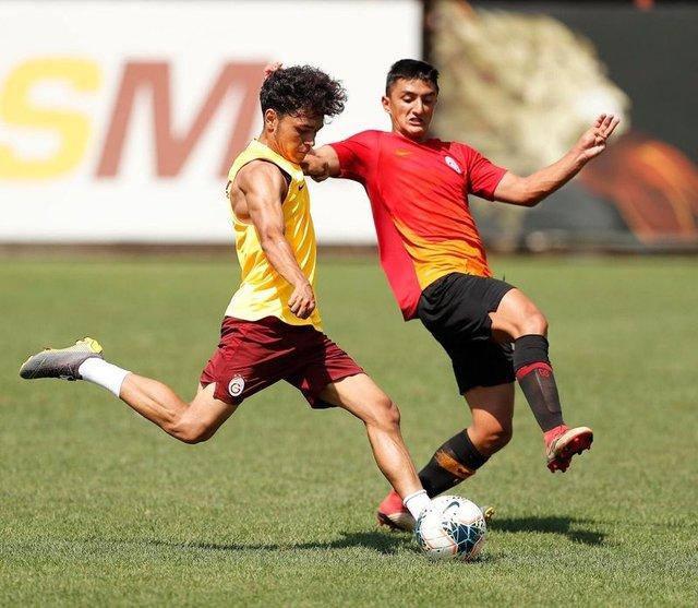 Galatasaray idmanında sürpriz misafir