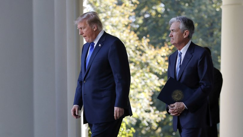 Trump: Powell istifa ederse durdurmam