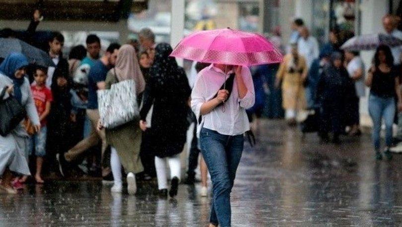 GELİYOR! Meteoroloji'den son dakika hava durumu uyarısı! Fırtına ve sağanak...