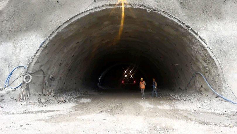 Pirinkayalar Geçidi'ndeki tünelde yıl sonunda ışık görünecek