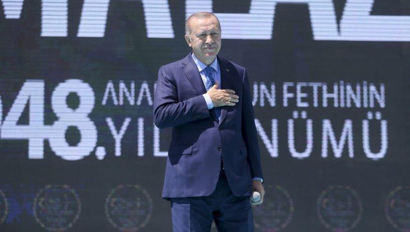 Cumhurbaşkanı Erdoğan'dan Ahlat'ta açıklamalar