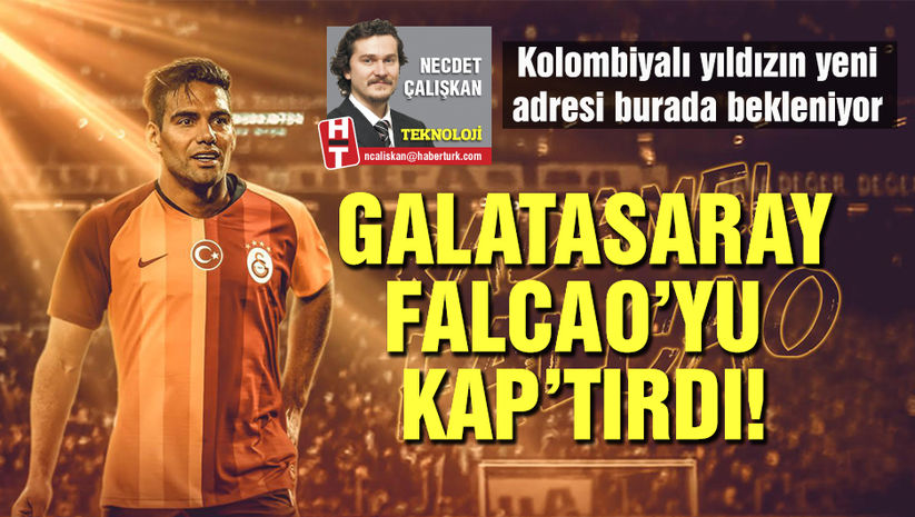 Galatasaray Falcao'yu KAP'tırdı!