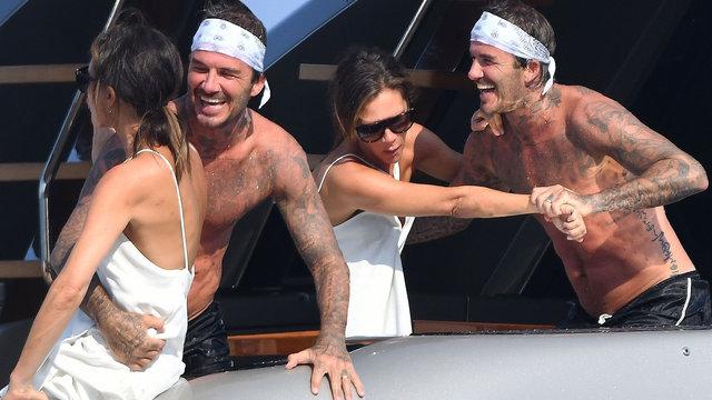 David Beckham ailesiyle tatilde - Magazin haberleri
