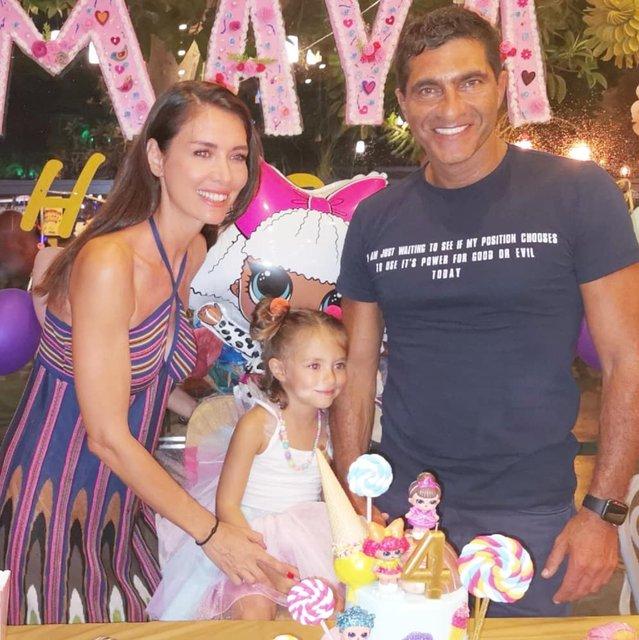 Nefise Karatay ile Yusuf Day'ın kızları Maya 4 yaşında - Magazin haberleri Instagram