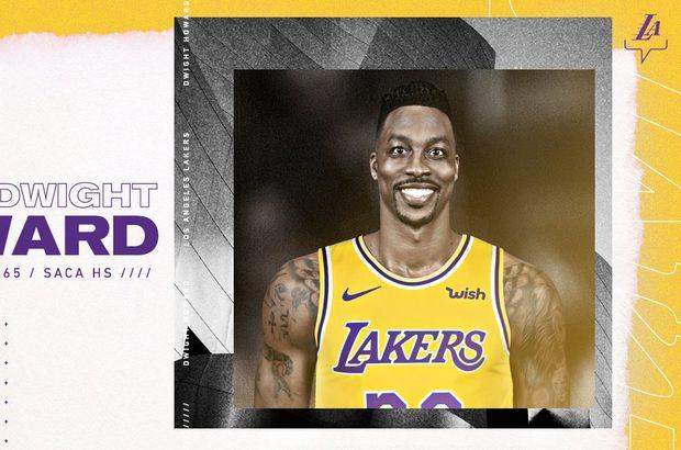 Dwight Howard, yeniden Lakers'ta