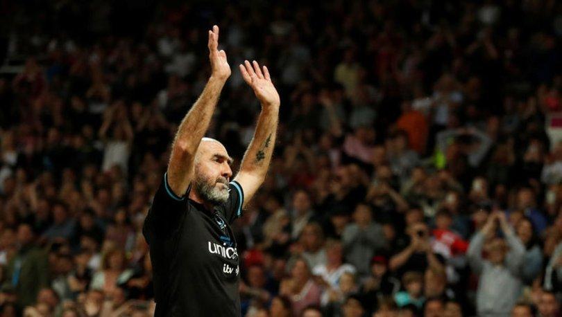 UEFA'dan Cantona'ya başkanlık ödülü