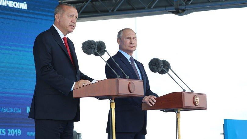 Son dakika haberi! Cumhurbaşkanı Erdoğan ile Putin'den kritik açıklamalar!