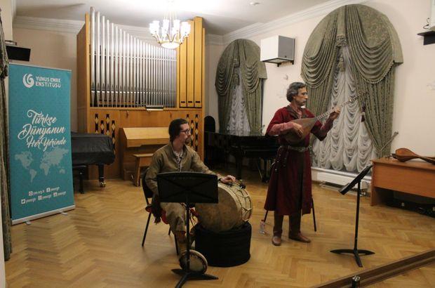 Moskova'da Türk Müziği Dinletisi