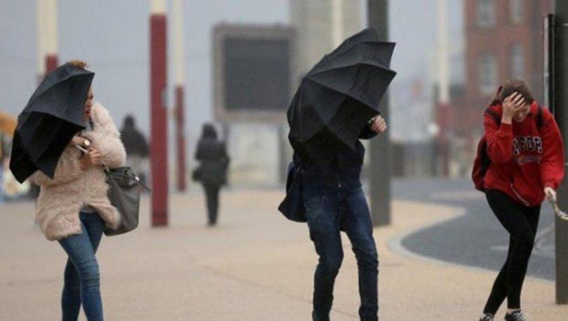 İstanbul hava durumu 5 günlük! Meteoroloji'den kuvvetli rüzgar uyarısı! İstanbul'da haftasonu havalar nasıl?