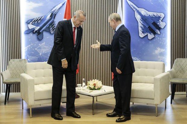 Moskova'daki Erdoğan-Putin görüşmesinden sonra kritik mesajlar