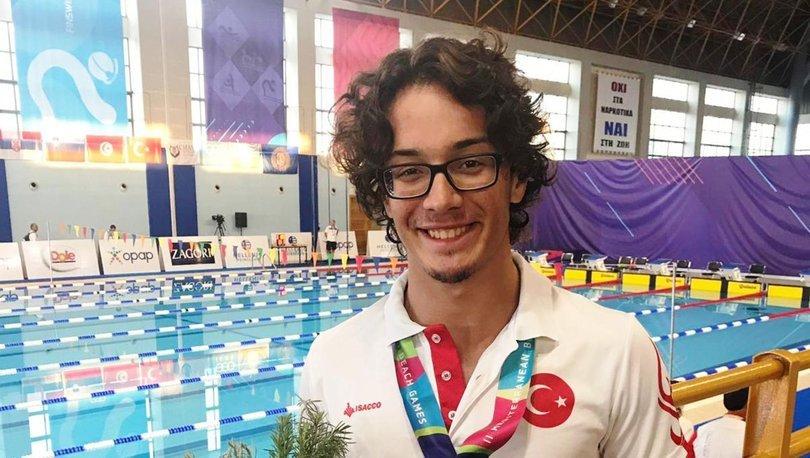 Milli yüzücüye Akdeniz Olimpiyatları'nda altın madalya
