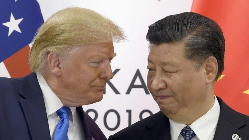 Son dakika! Trump: Çin ile çok iyi gidiyoruz