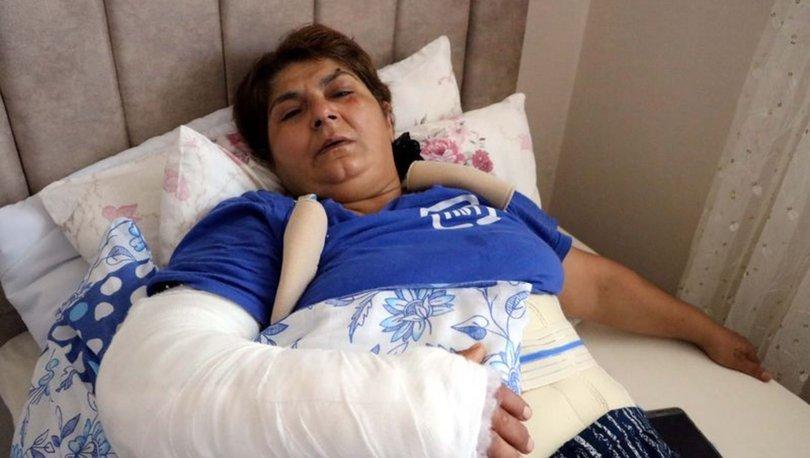 Baltayla saldıran kayınbirader tutuklandı! 'Korkularım daha da arttı'