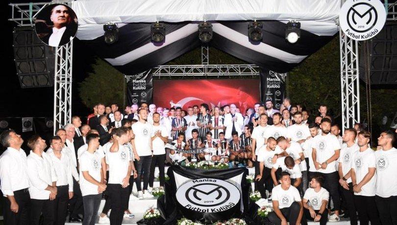 Manisa Futbol Kulübü tanıtıldı