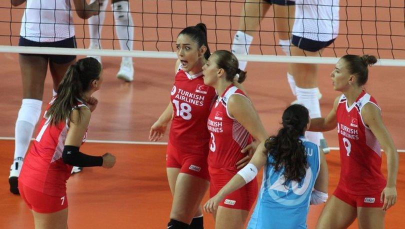 Türkiye: 3 - Fransa: 0 | MAÇ SONUCU Filenin Sultanları 4'te 4 yaptı!