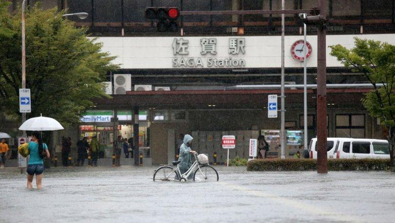 Yağışlar nedeniyle Japonya'da 847 bin kişiye tahliye talimatı verildi