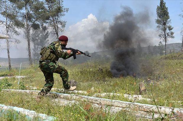 Terör örgütü YPG ve ÖSO arasında çatışma!