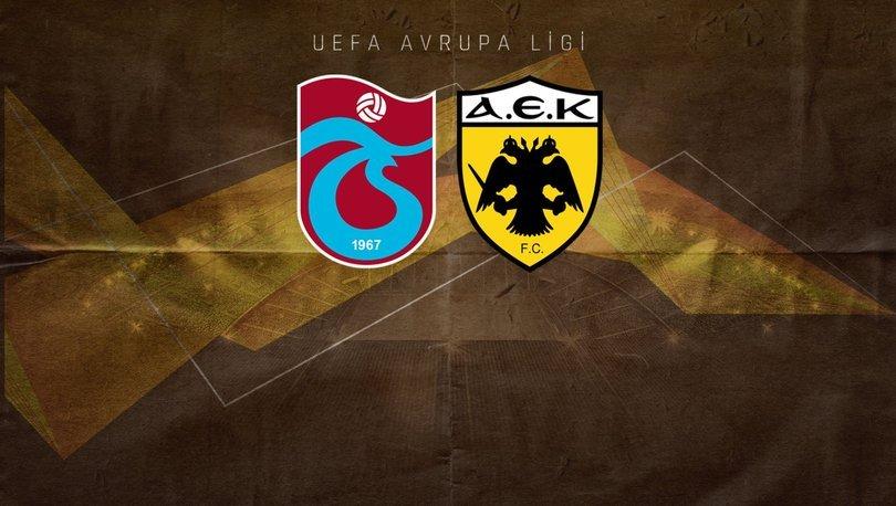 Trabzonspor AEK maçı