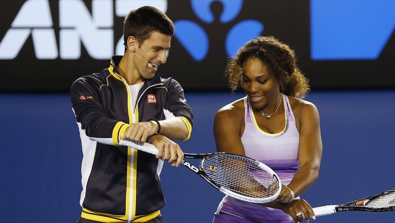 Serena Williams ve Novak Djokovic