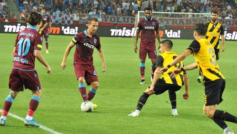 Trabzonspor AEK MAÇ SONUCU ve MAÇ ÖZETİ - Trabzonspor yenilse de turladı!