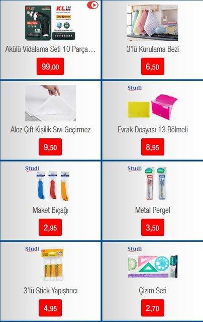 BİM 30 Ağustos 2019 Kırtasiye ve Aktüel ürünleri satışa çıktı! BİM'de bugün neler olacak? Tam liste