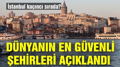 İstanbul güvenlikte kaçıncı sırada?
