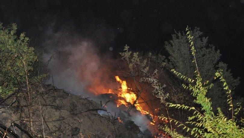 Malkara'da orman yangını!