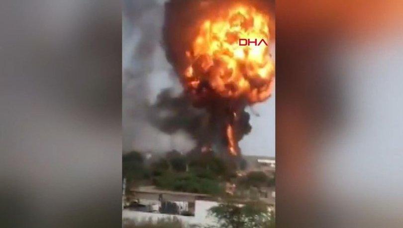 Hindistan'da kimya fabrikasında yangın: 13 ölü