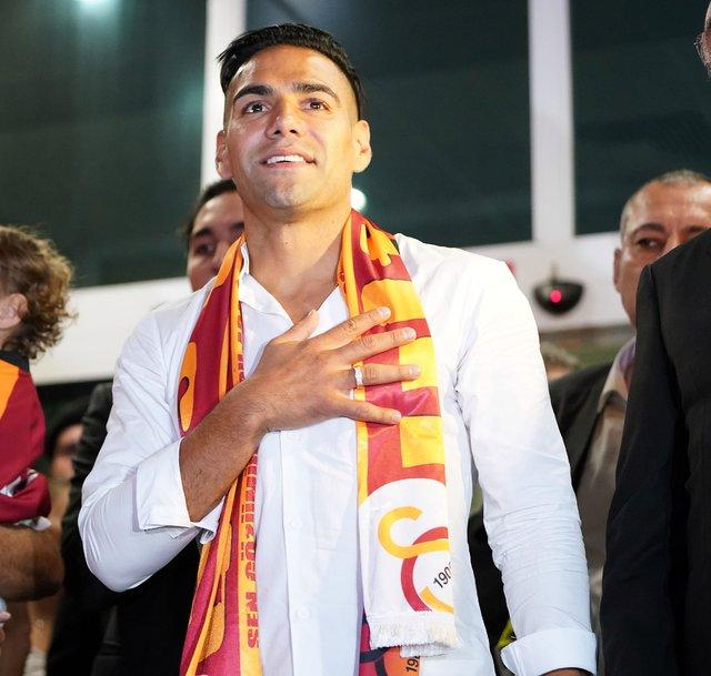 Son dakika müjdesi: Falcao, İstanbul'a geldi! Galatasaray taraftarı çoştu