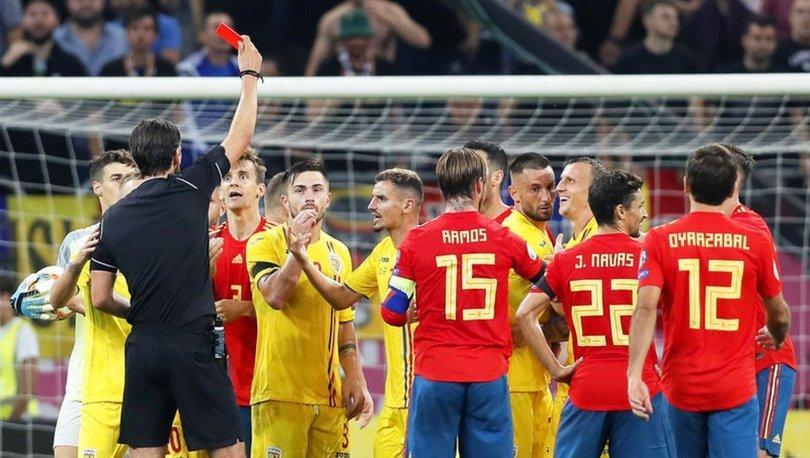 Romanya-İspanya maçı