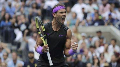 ABD Açık'ta şampiyon Nadal!