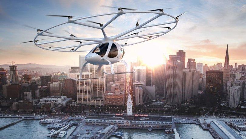 Volocopter uçan taksi