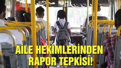 Çocukların emniyeti için servis sürücülerinin detaylı muayenesi şarttır!