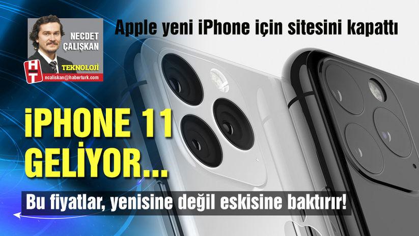 iPhone 11 geliyor...