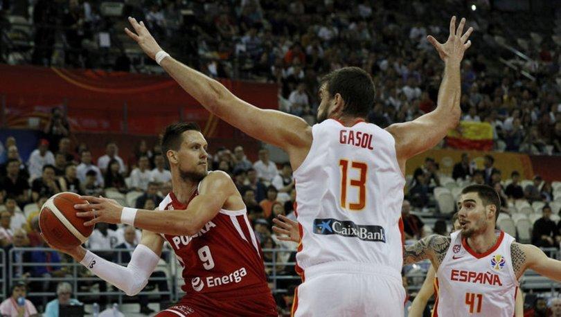 Çin'de düzenlenen 2019 FIBA Dünya Kupası'nda İspanya, çeyrek final maçında Polonya'yı 90-78 yenerek yarı finale yükseldi.