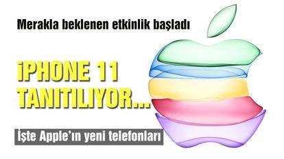 iphone 11 tanıtımı