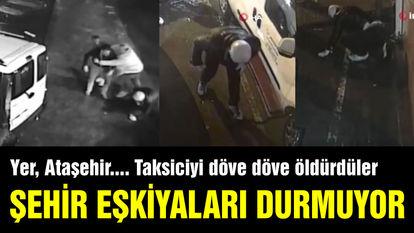 Taksiciyi dövüp ölüme terk ettiler