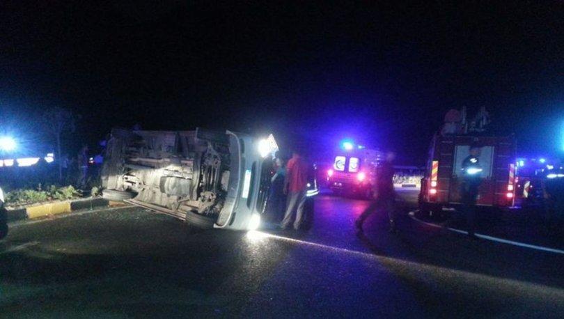 Fethiye'de trafik kazası
