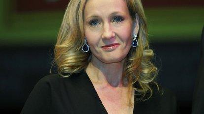 Harry Potter'ın yazarı JK Rowling