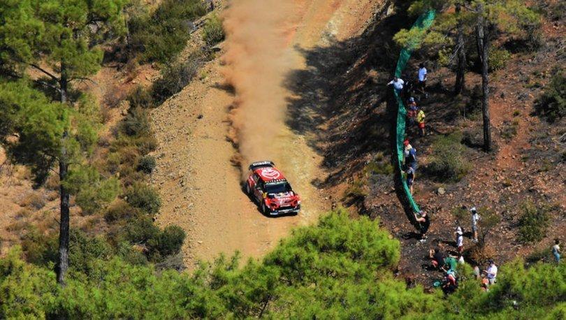 Dünya Ralli Şampiyonası etapları havadan görüntülendi