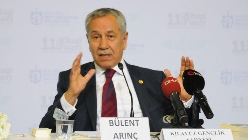 Bülent Arınç'tan AK Partili Bülent Turan'a yanıt: Herkes haddini bilsin - Haberler